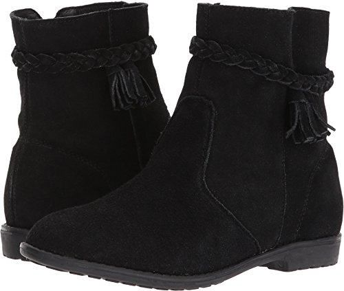 Old Soles Baby Girl's Country RD (Toddler/Little Kid/Big Kid) Black Suede 35 M - Country Kids Rd