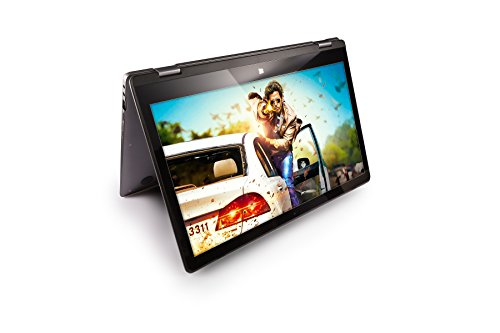 Fusion5 13.3″ Convertible T80 Windows 10 Laptop – (FHD, 360° Convertible touch screen, 4GB RAM, 64GB Storage, WIFI, Bluetooth, 2 in1 Laptop)