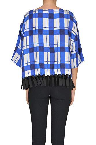 Alysi Mcgltpc000005113e Mujer Algodon Blouse Azul wqzwx4Yr5