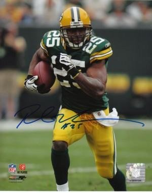 Ryan Grant signed Green Bay Packers 8x10 Photo - Autographed NFL ()