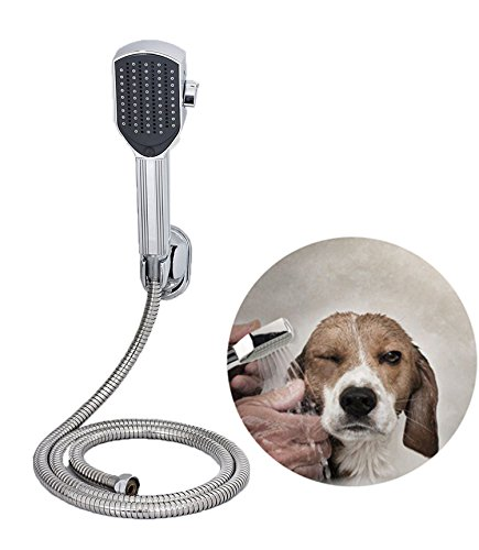 Leadrise Multi-Functional Dog Shower Bath Massager Handheld Sprayer Brush Grooming Tool for Dogs and Cat Bath Sprayer
