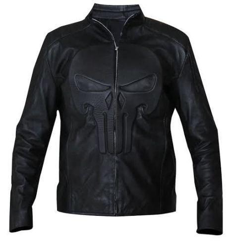 Punisher Motorcycle Jacket - 7