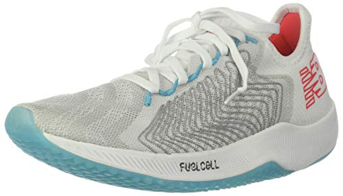Functional Cell - New Balance Women's FuelCell Rebel Running Shoe, White/Multicolor, 9 B US