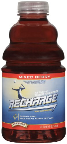 Used, R.W. Knudsen Family Recharge Mixed Berry Flavored Sports for sale  Delivered anywhere in USA