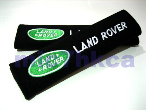 land-rover-exquisite-embroidered-badge-comfortable-seat-belt-shoulder-pad-cover-velcro-opening-black