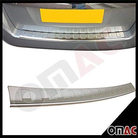 Protezione paraurti posteriore in acciaio INOX per paraurti posteriore con smussatura OMAC 5208093