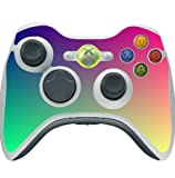 Colorful Design Colors of the Rainbow Pattern Xbox 360 Wireless Controller Vinyl Decal Sticker Skin by Moonlight Printing