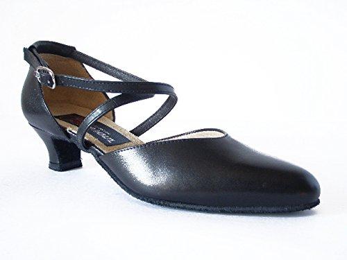 4 Talons Noir Paoul Dancing Cm Heels Dance Cuir Charleston Paoul Leather Charleston Danse Danse Black Cm Hauts 4 High ZqOpZ
