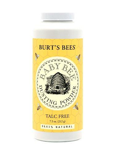 Burt's Bees Baby Bee Dusting Powder Bottle, 7.5-Ounce Bottles (Pack...