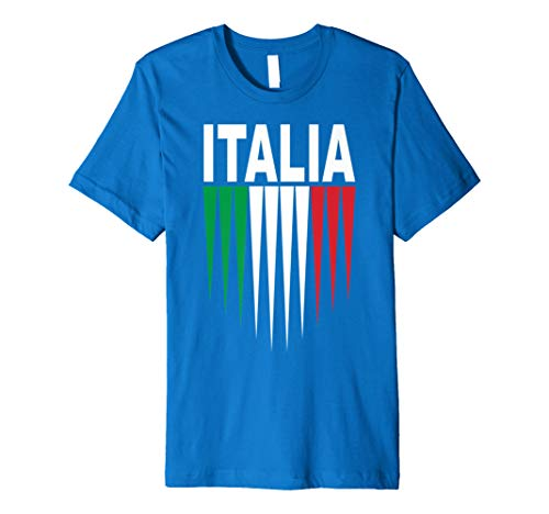 Italy Soccer Jersey Womens World 2019 Cup France Premium T-Shirt ()