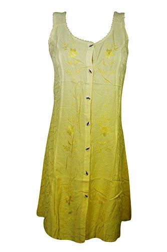 Mogul Interior - Vestido - Noche - para mujer Yellow-2