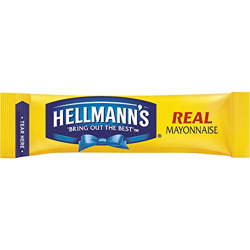 Hellmann's To Go Packets Real Mayonnaise, 3.8 Fl Oz, Pack of 60 (Best Foods Organic Mayonnaise Ingredients)