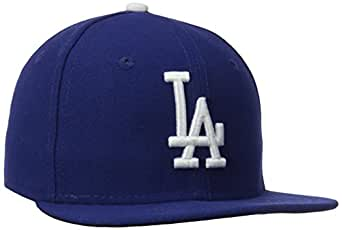 b33178dd323 MLB Los Angeles Dodgers Game Youth AC On Field 59Fifty Fitted Cap-612