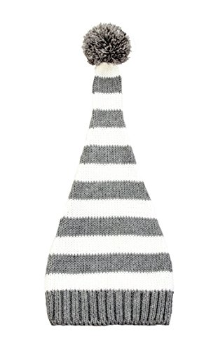zefen Baby Newborn Unisex Cotton Striped Knitted Hat Beanie Elf Top (Elfs Hat)