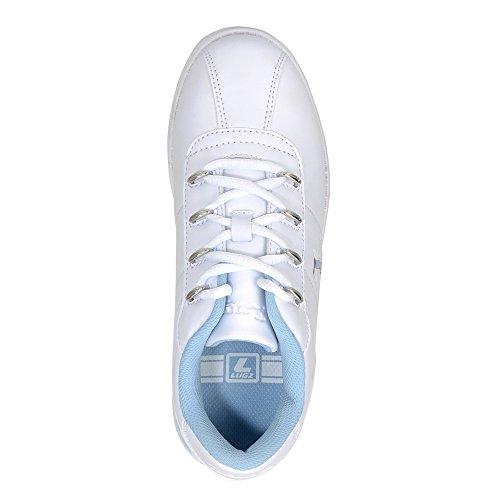Sneakers Basse Di Lugz Womens Zrocs Bianco / Blu Scuro Perma Hide