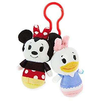 Hallmark itty bittys Clippys Disney Minnie Mouse and Daisy Duck Stuffed Animals: Toys & Games
