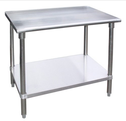 WORKTABLE Food Prep Workt able Restaurant Supply Stainless Steel (30'' X 60'') by AmGood