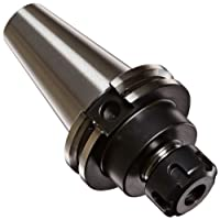 "Dorian Tool ER16 CAT40 Shank Alloy Steel 8620 Collet Holder, 2.5"" Projection, 1.26"" Nose Diameter, 0.019"" - 0.406"" Collet Range"
