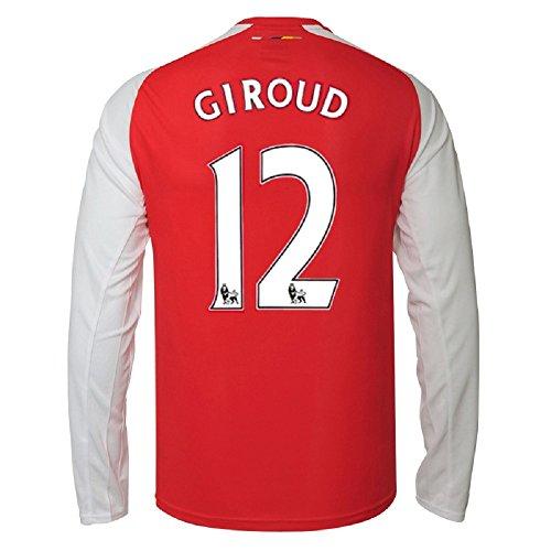 Puma Giroud #12 Arsenal Home Jersey 2014/15 Long Sleeve (L)