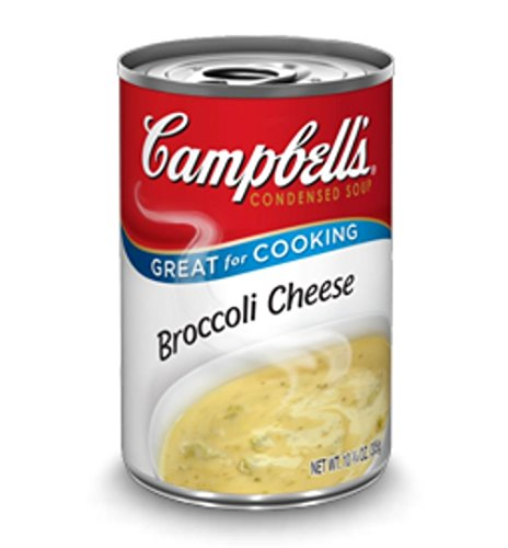 Campbell's, Condensed Broccoli and Cheese Soup, 10.75oz Can (Pack of 6)