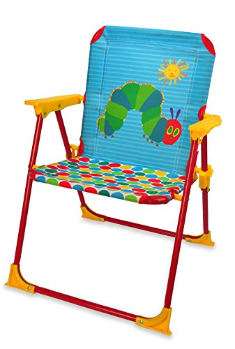 World of Eric Carle, The Very Hungry Caterpillar Folding Chair by Kids Preferred