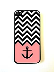Anchor Coral Chevron iphone 5c Case - For iphone 5c - Designer TPU Case Veriz...