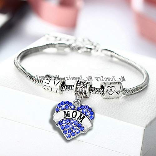 Sandover Family Love Mother Father Grandma Gifts Charm Bracelet for Women Men Jewelry | Model BRCLT - 48809 |