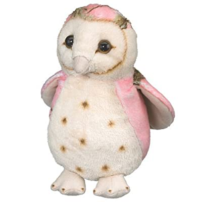 Wildlife Artists Pink Owl Toy Bird Plush Stuffed Animal 6 Inch Camo Wild: Toys & Games
