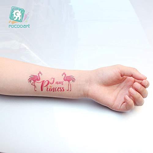 HXMAN Ballenas Coloridas Falsas Tatuaje Cuerpo Arte Flash Taty ...