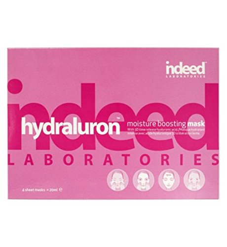 Hydraluron moisture boosting masks by Indeed