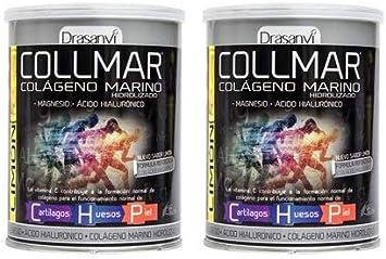 COLLMAR Colágeno hidrolizado con limón + magnesio + vitamina C ...