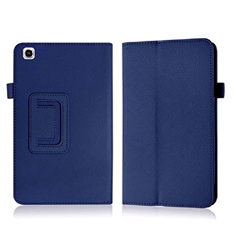 Cover Samsung Galaxy Tab 3 8 inch Back Case,Beebiz Ultra Slim Lighted PU Leather Case Cover with Stand Case for Samsung Tab 3 8 SM-T310 Protective Case,Dark Blue ()