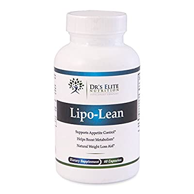 Dr's Elite Lipo-Lean - Raspberry Ketones - WEIGHT LOSS PILLS - BEST Dietary supplement on the market - Doctor Formulated - High Potency and Pure
