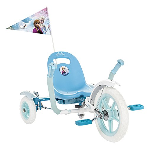 3 Wheeled Car - Mobo Tot Disney Frozen: A Toddler's Ergonomic Three Wheeled Cruiser Ride On, Blue