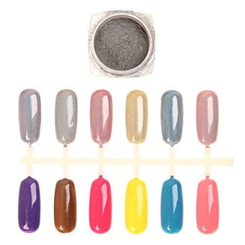 Makartt Holographic Rainbow Gradient Glitter