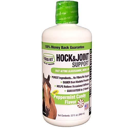 Equine Liquid - Liquid-Vet Equine Hock & Joint Support Formulas, Peppermint Flavor