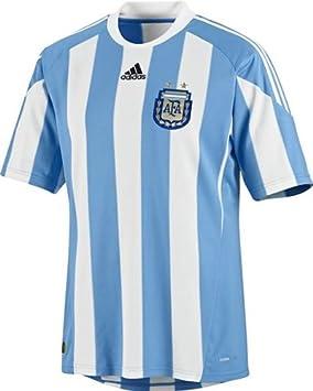 b998970cdab34 adidas - Camiseta de fútbol de la selección argentina AFA hogar manga corta  Azul Cielo