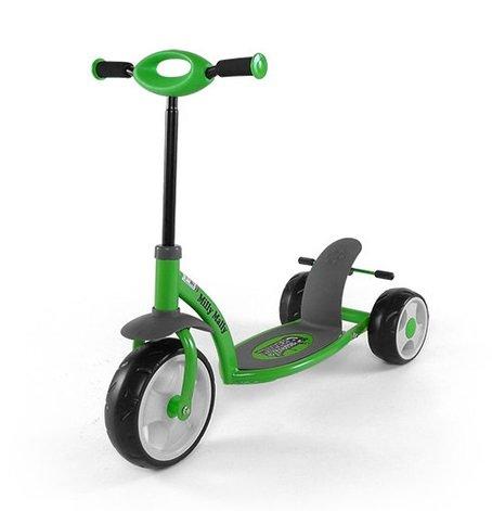 Kinder Roller MILLY MALLY Crazy Scooter Grün - Kinderroller - Tretroller - Scooter - Kinderscooter - Babyroller