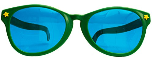[Joker Party Clown Jumbo Novelty Sunglasses, Assorted Color, One-Size (10