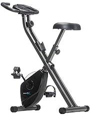 skandika Foldaway X-1000 - X-Bike Hometrainer - Opvouwbare hometrainer - Fitness fiets - Inklapbaar - 8 handmatige weerstanden -Maximaal 110 KG