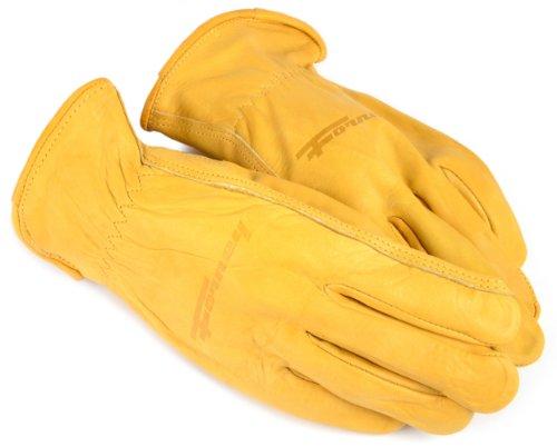 Premium Cowhide Driver (Forney 53047 Cowhide Leather Driver Premium Men's Gloves, Medium)