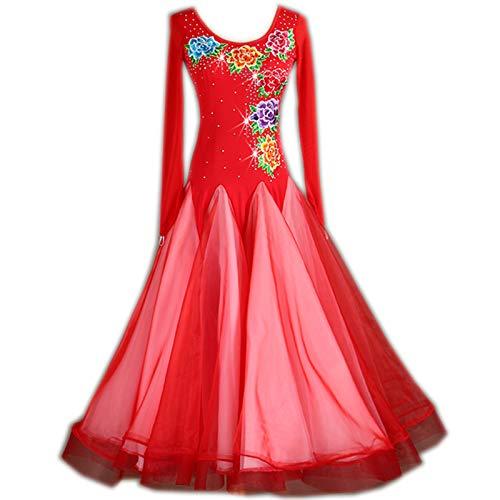 選ぶなら garuda 社交ダンス衣装 レディースダンスドレス モダンダンスウェア サイズ調整対応 レッド レッド 花柄 B07PBRKGML B07PBRKGML レッド 花柄 サイズオーダー, BASE UNION:d4b33407 --- a0267596.xsph.ru