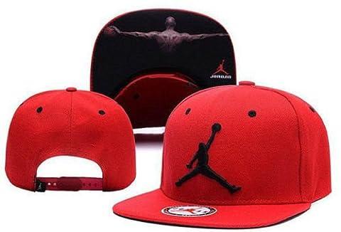 2016 Fashion Mens Snapback Hat Hip-Hop adjustable bboy Baseball Cap Hat Red - Nba Jazz Lamp