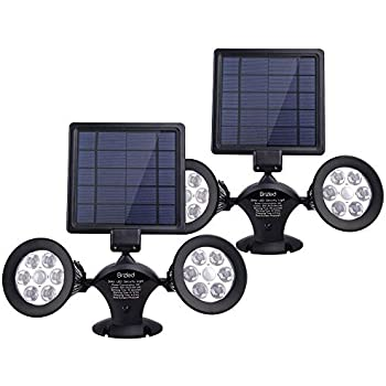 Brizled Motion Sensor Outdoor Lights Solar Spotlights 12