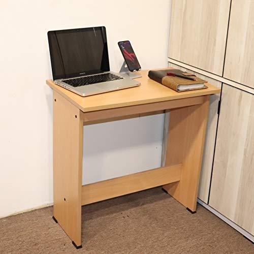 Spacecrafts Wooden Computer Table Study Office Laptop Desk (Beige)