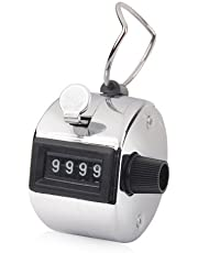 Manual Tally Counter 4 Digit Display Counter Lap Counter with Finger Ring Mechanical Palm Click Counter for Stadium, Casino and Game Scores by TheBigThumb
