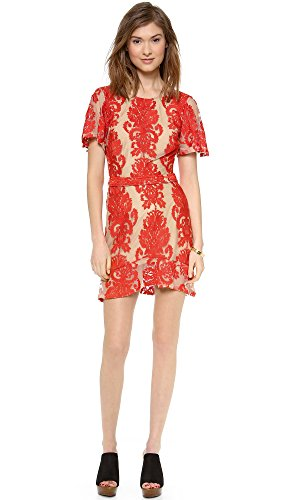 For Love & Lemons Women's San Marcos Mini Dress, Red, Medium by For Love & Lemons (Image #4)