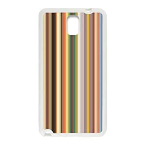 Canting_Good Simple Colorful Stripes Custom Case Cover Shell for Samsung Galaxy Note 3 (Laser Technology)