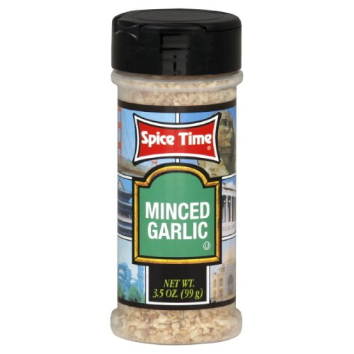 Spice Time Spice Garlic Minced, 2-Ounces  (Pack of 12)