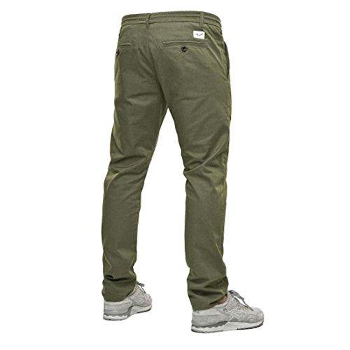 REELL Herren Jeans Reflex Easy Pant Olive Long